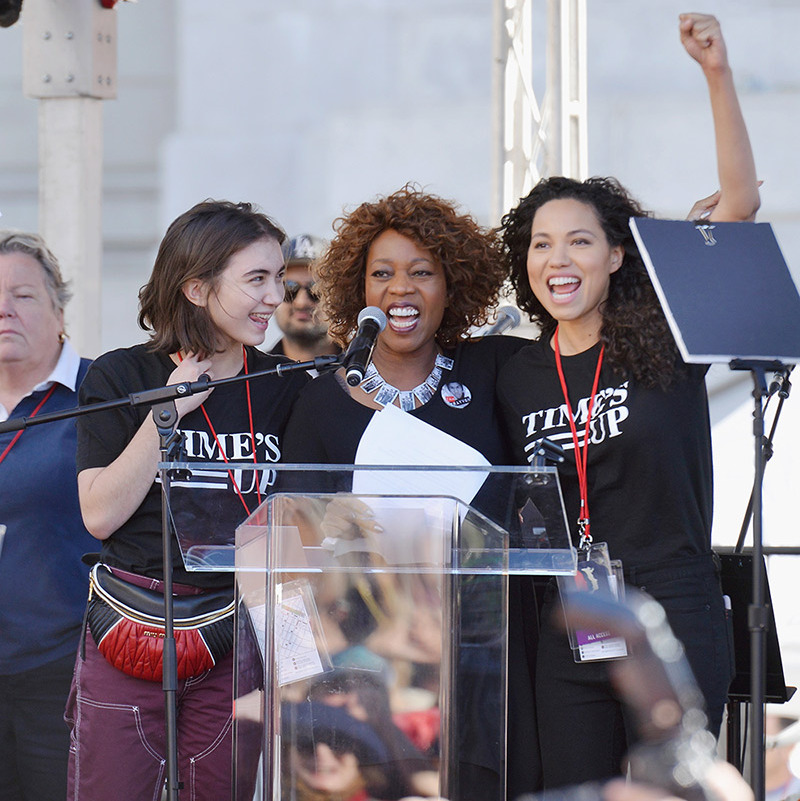 Rowan Blanchard, Alfre Woodard and Jurnee Smollett-Bell