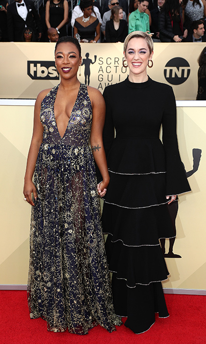 <h2>Samira Wiley and Lauren Morelli</h2>