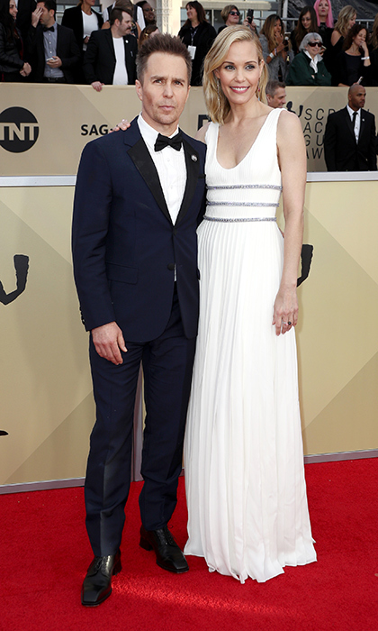 <h2>Sam Rockwell and Leslie Bibb</h2>