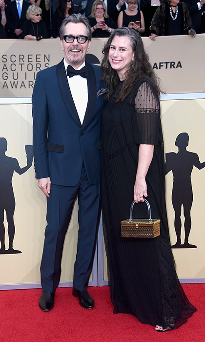<h2>Gary Oldman and Gisele Schmidt</h2>