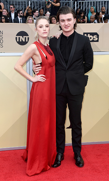<h2>Maika Monroe and Joe Keery</h2>