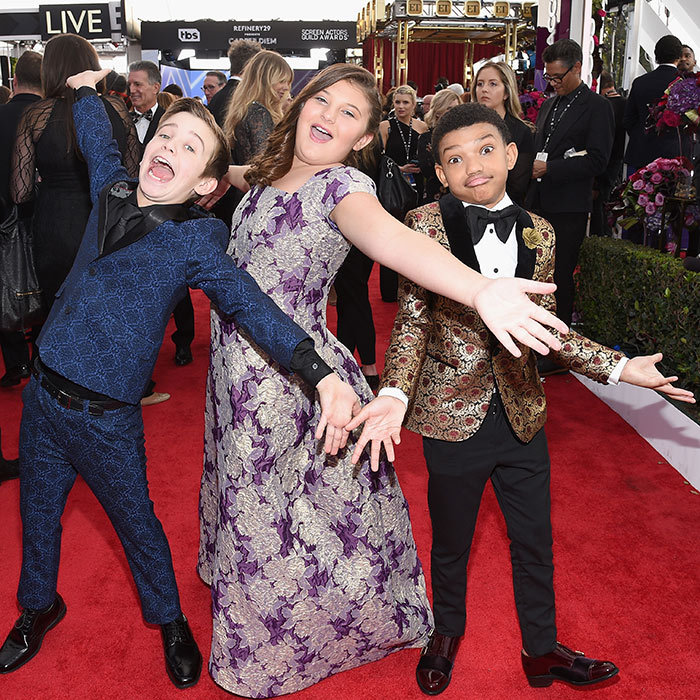 <em>This Is Us</em> mini-mes Parker Bates, Mackenzie Hancsicsak and Lonnie Chavis