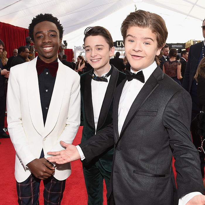 The red carpet at the 24th annual Screen Actors Guild Awards was brimming with A-list actors, but a group of up-and-coming stars were also out in full force. From <em>This Is Us</em> to <em>Stranger Things</em>, young casts were dressed to impress, from velvet to plaid, pink to Converse. Click through to see all the red-carpet cuties...