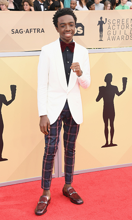 Caleb McLaughlin from <em>Stranger Things</em>