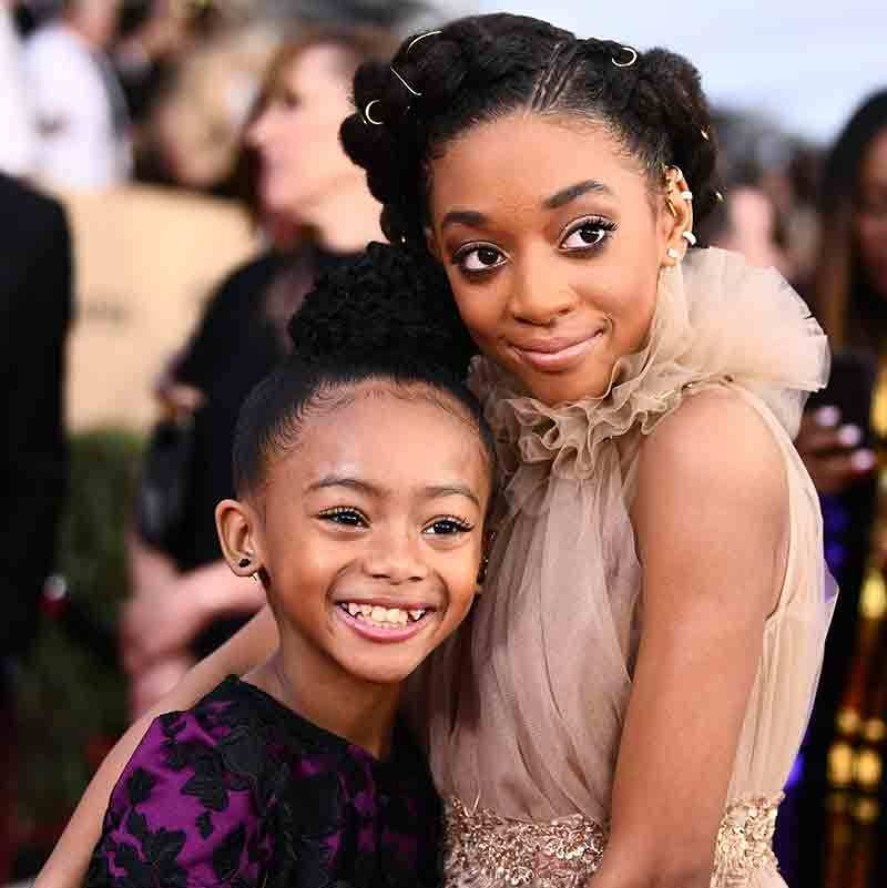 Faithe Herman and Eris Baker from <em>This Is Us</em>