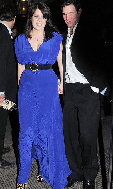 While Eugenie managed to maintain a relatively low-key profile at Newcastle University, when the Princess was down in London she and Jack caught the attention of royal watchers.