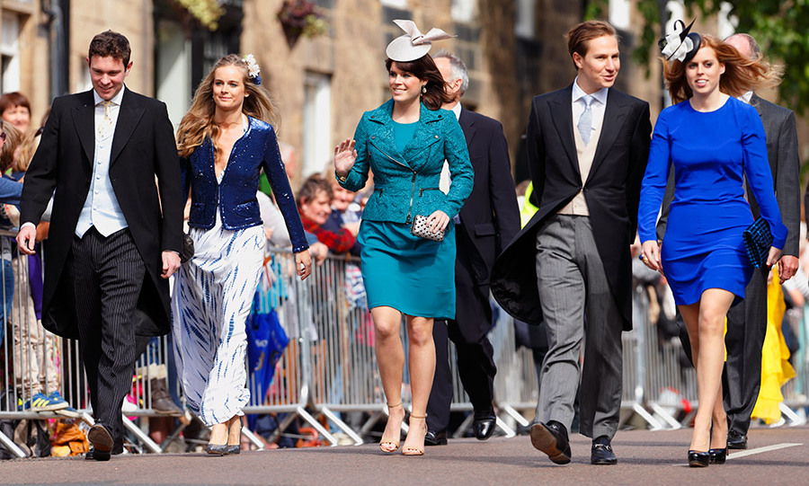 Over the years Eugenie and Jack have attended the weddings of their high-society friends, such as Lady Melissa Percy and Thomas Van Straubenzee's nuptials in June 2013. The couple arrived with Princess Beatrice and her now ex-boyfriend Dave Clark, as well as Cressida Bonas, Prince Harry's ex.
