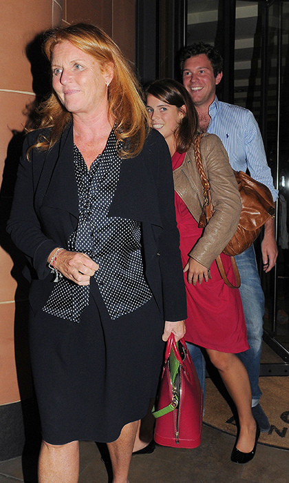 "The groom-to-be gets on splendidly well with Eugenie's parents, and is often spotted going out for dinner with his girlfriend and her mum the Duchess of York. Sources have said that Prince Andrew and Sarah are ""very fond"" of the ""lovely chap"" who is set to marry their younger daughter.