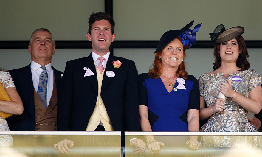 Jack once again accompanied his girlfriend to Royal Ascot in June 2016, where they joined Eugenie's parents the Duchess of York and Prince Andrew. The Englishman was the perfect gentleman, charming his future in-laws as they watched the races.