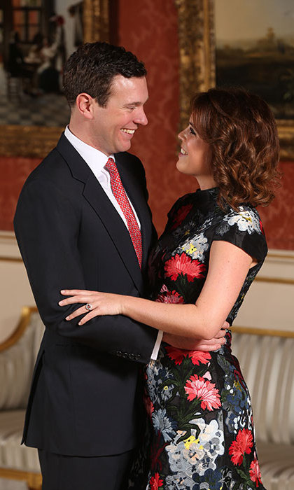 <p>Inspiration behind Princess Eugenie's engagement ring revealed!</p>