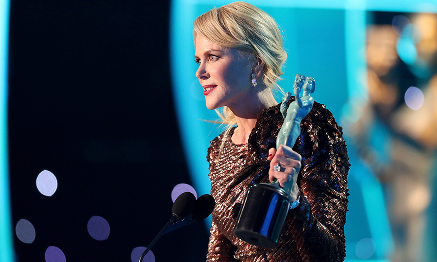 <h4>Nicole Kidman's acceptance speech</h4>