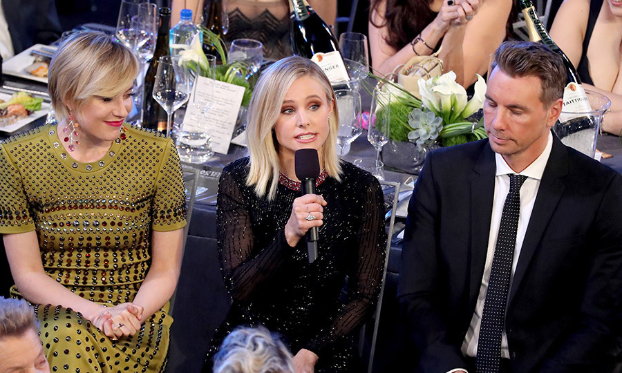 <h4>Kristen Bell's joke (at her husband's expense!)</h4>