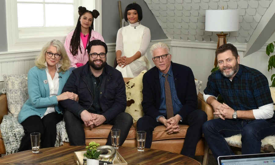 The talented cast of <em>Heart Beats Loud</em>, Blythe Danner, Sasha Lane, Brett Haley, Kiersey Clemons, Ted Danson and Nick Offerman were all smiles as they sat down together for an interview at the Variety Studio presented by AT&T at DIRECTV Lodge. 