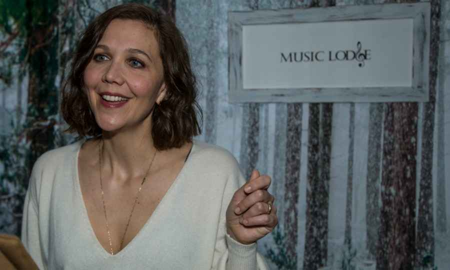 Maggie Gyllenhaal seemed to have a great time at the Music Lodge, which was hosted by influencer marketing program IconicReach during the Sundance Film Festival. The actress was among other celebrity attendees including: Jonah Hill, Joaquin Phoenix and Grace Gummer.