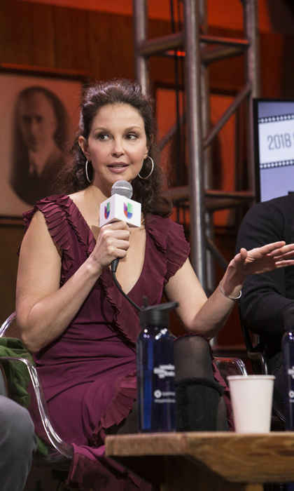 "Ashley Judd sat on a panel ""Behind the Camera: Where Diversity Begins"" with Univision Communications during Sundance. The actress discussed a wide range of topics including why she spoke out against Harvey Weinstein and how she gives Hollywood an F grade on its current efforts in diversity.