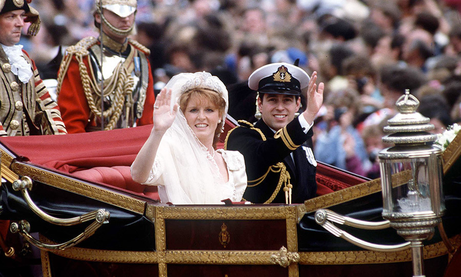 <p>The newlyweds left Westminster Abbey for Buckingham Palace in an open-top 1902 State Landau.</p>
