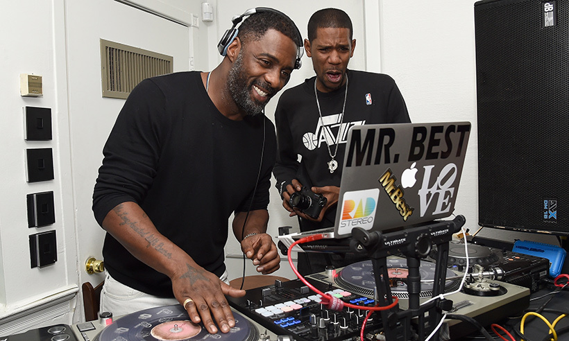 Idris Elba brought the beats to the <em>Yardie</em> after party!