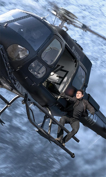 Tom Cruise has officially joined Instagram, and what a better way to kick off the New Year than with the account <em>and</em> a big announcement! The iconic actor announced the sixth <em>Mission Impossible</em> film title... And it's <em>Fall Out</em>.