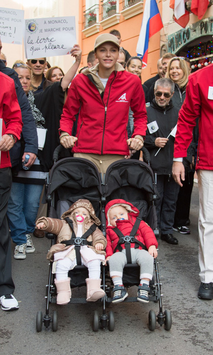 "<p>Charlene looked like any other mom pushing her twins in a stroller during the ""March for Climate"" in 2015.</p>