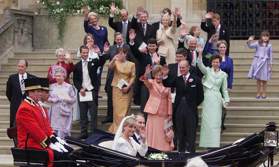 <h2>PRINCE EDWARD AND SOPHIE RHYS-JONES'S WEDDING</h2>