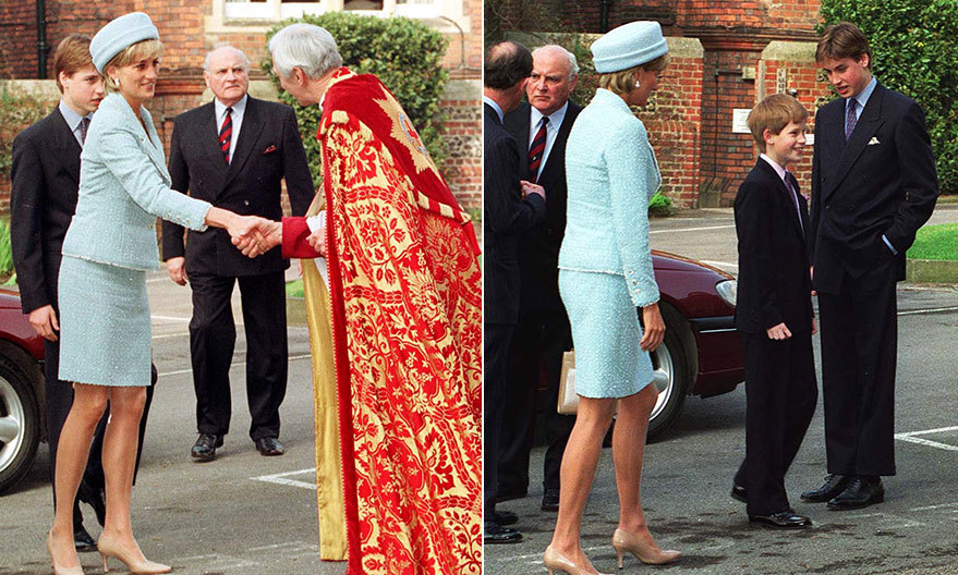 <h2>PRINCE WILLIAM'S CONFIRMATION</h2>