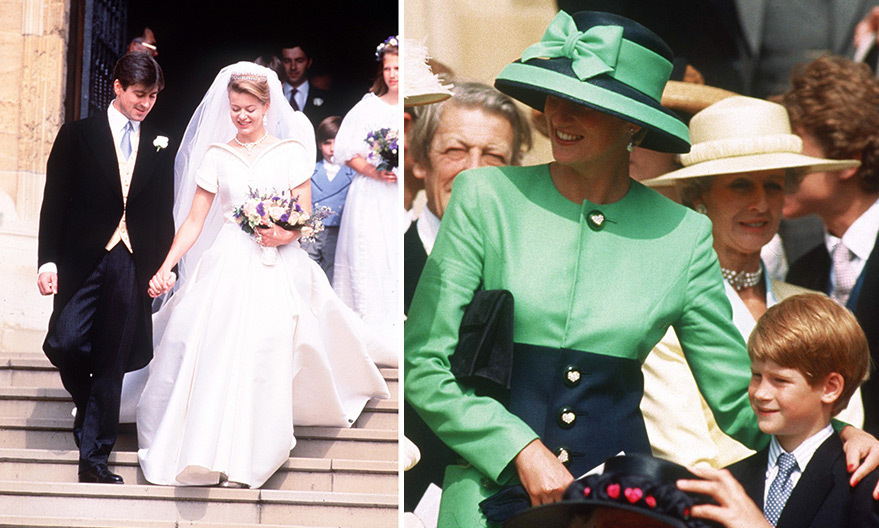 <h2>LADY HELEN WINDSOR AND TIMOTHY TAYLOR'S WEDDING</h2> 