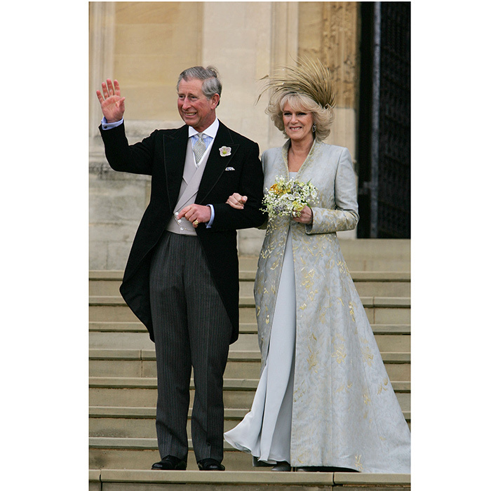 <h2>PRINCE CHARLES AND CAMILLA PARKER BOWLES'S WEDDING BLESSING</h2>