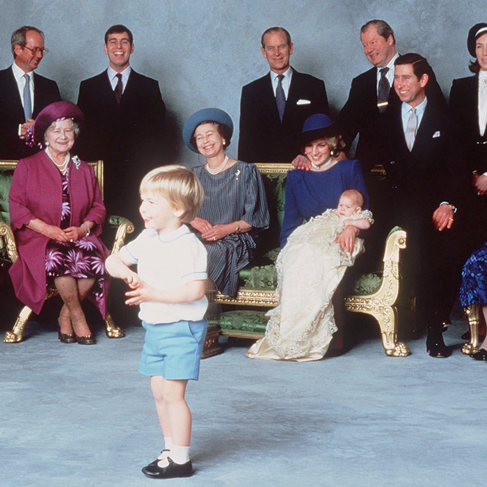 <h2>PRINCE HARRY'S CHRISTENING</h2>