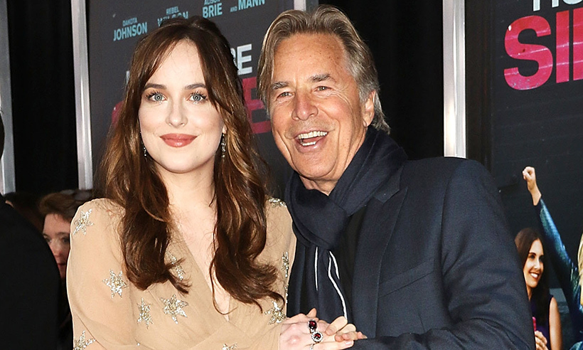 Dakota Johnson's dad Don addresses her 'troubling' romance ...