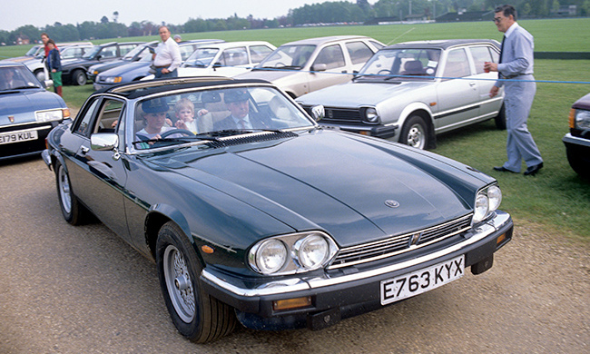 Princess Diana S Beloved Jaguar Customized For Princes William And