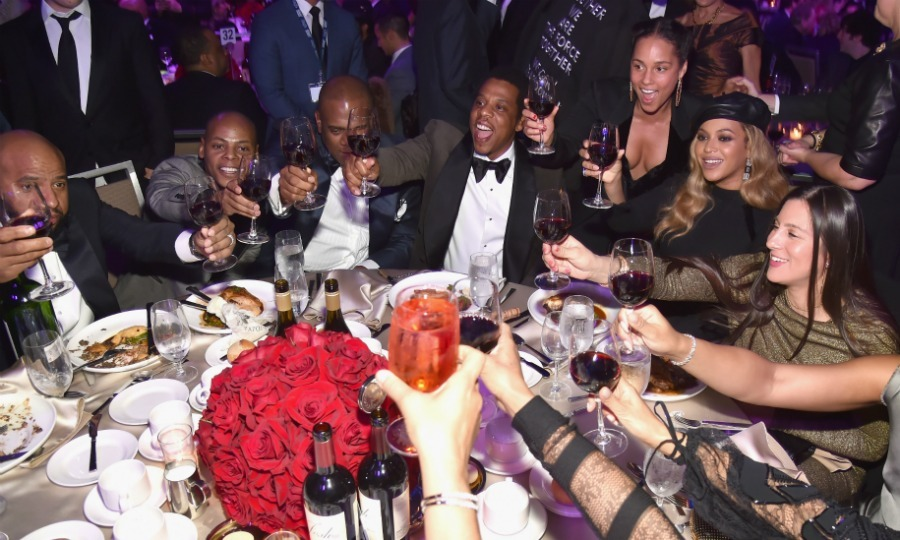 <p><b>While the GRAMMY Awards are certainly considered music's biggest night, don't think that the stars reserve their celebrations for just one evening! From Clive Davis' legendary pre-ceremony bash to all of the most outrageous after-parties, check out how the 2018 GRAMMYs took over NYC. Click through our gallery for all the best photos of celebrities partying!</b></p>