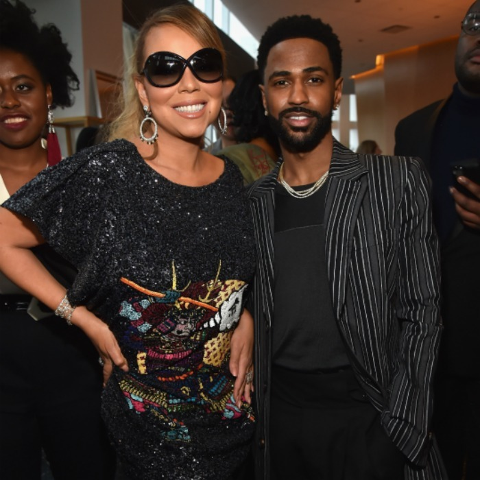 Mariah Carey and Big Sean attended Roc Nation THE BRUNCH at One World Observatory on January 27, 2018 in New York City.
