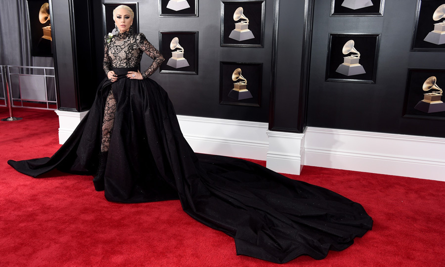 <p>Lady Gaga in Armani Privé</p>