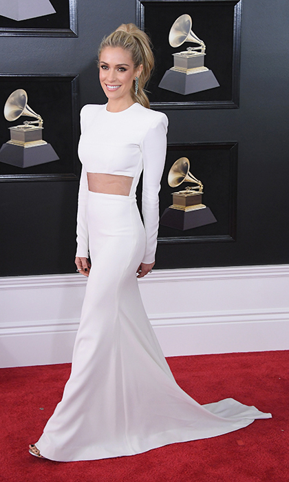 <p>Kristin Cavallari in Alex Perry</p>