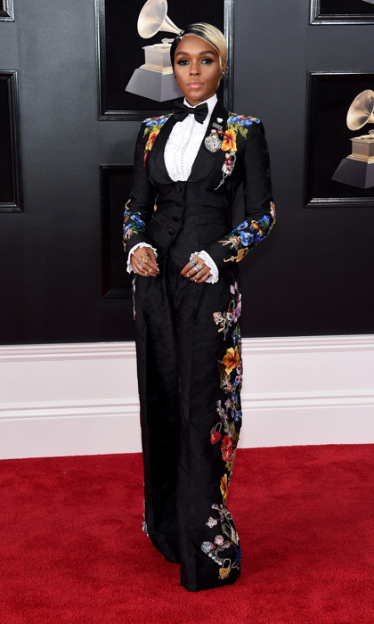 <p>Janelle Monáe in Dolce &amp; Gabbana</p>