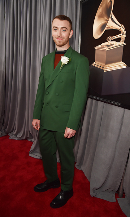 <p>Sam Smith in Cerruti 1881</p>