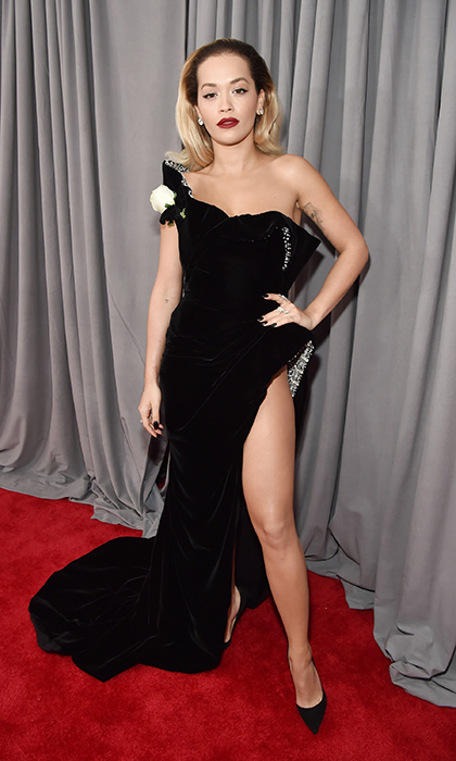 <p>Rita Ora in Ralph & Russo</p>