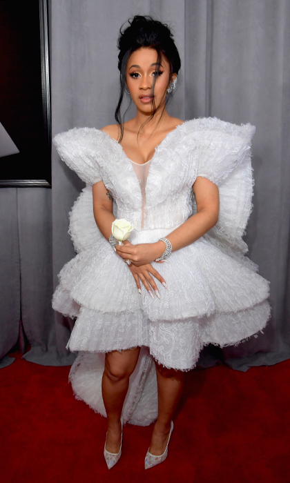 <p>Cardi B in Ashi Studio</p>