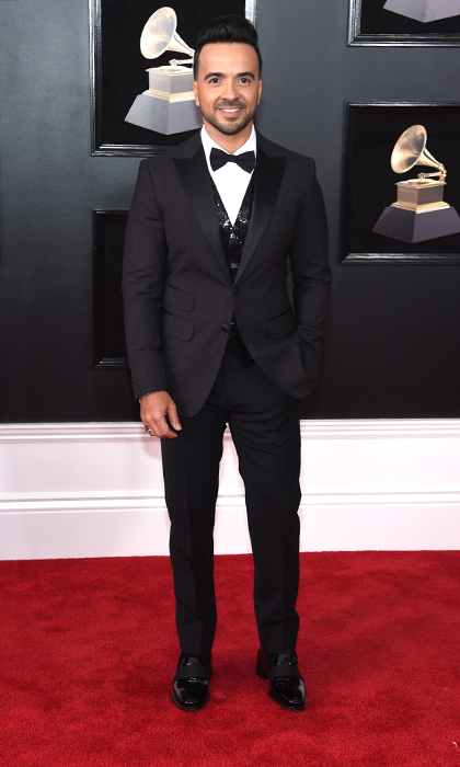 <p>Luis Fonsi in DSquared</p>