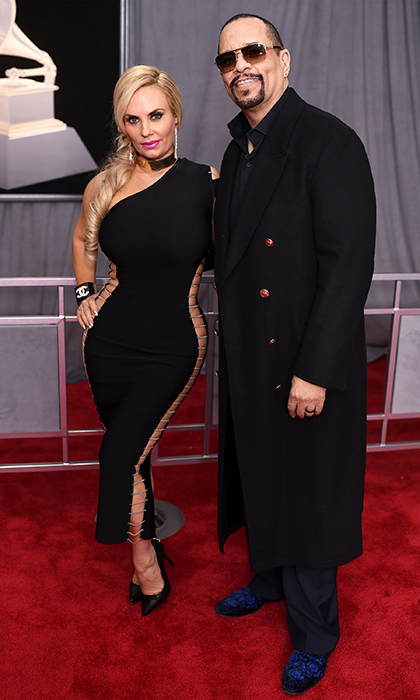 <p>Coco and Ice T</p>