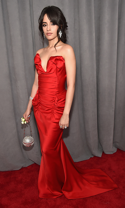 <p>Camilla Cabello in Vivienne Westwood</p>