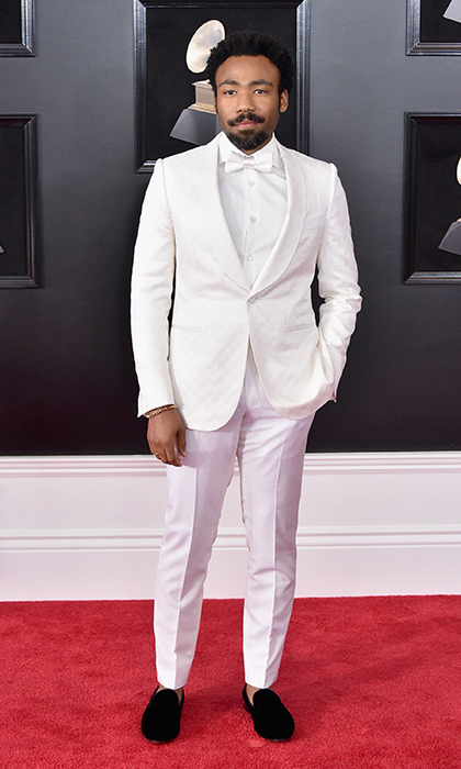 <p>Donald Glover in Ermenegildo Zegna Couture</p>