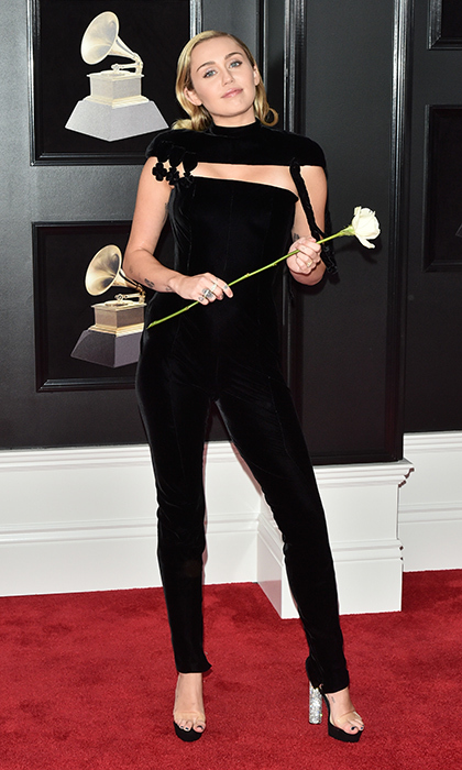 <p>Miley Cyrus in Jean Paul Gaultier</p>