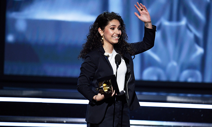 <h4>Alessia Cara's acceptance speech</h4>