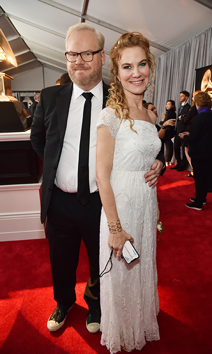 <p>Jim and Jeanine Gaffigan</p>