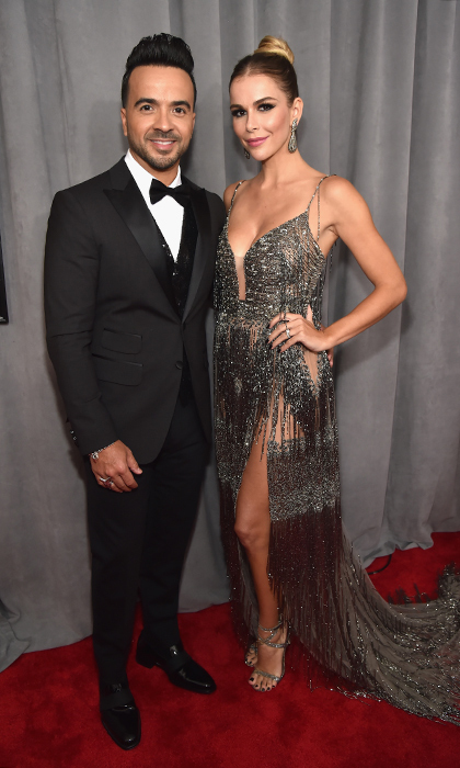 <p>Luis Fonsi and Agueda Lopez</p>