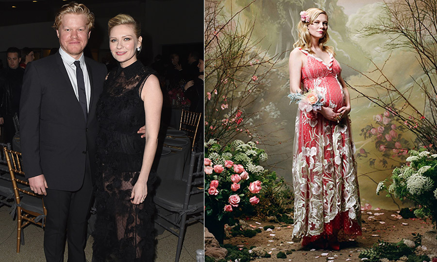<h4>Kirsten Dunst and Jesse Plemons</h4>