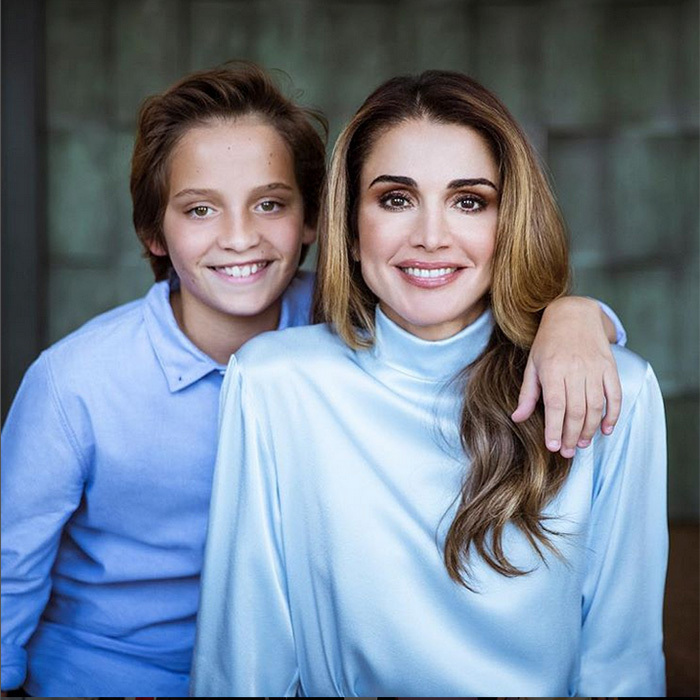"Queen Rania wished her son Prince Hashem - who shares a birthday with her husband King Abdullah – a very happy birthday as the young royal turned 13 on January 30. Posting this new portrait on Instagram, she captioned it simply, ""Happy birthday to my youngest, my prince, Hashem.""