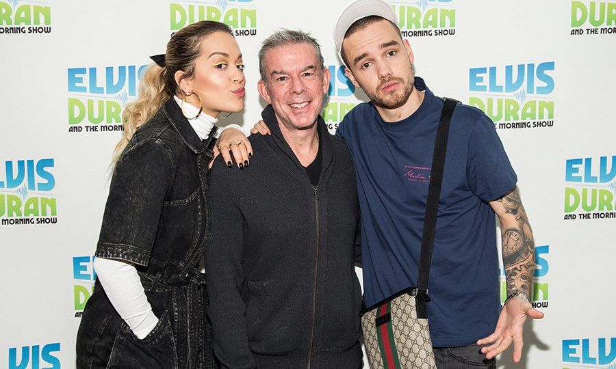 Rita Ora and former One Direction member Liam Payne appeared on the Elvis Duran at the Z100 Studio show on Jan. 31 in New York City.