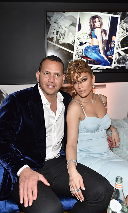 This couple just keeps getting more gorgeous! Former baseball player Alex Rodriguez and Jennifer Lopez attended the Guess Spring 2018 Campaign Reveal on Jan. 31.